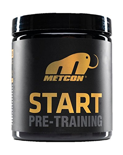 MetCon Start Pre-Workout Supplement- The Ultimate Pre Training Powder For Nitric Oxide Production & Lactic Acid Build Up - All Natural Formula For Muscle Endurance, Supreme Energy & Focus- 30 Servings