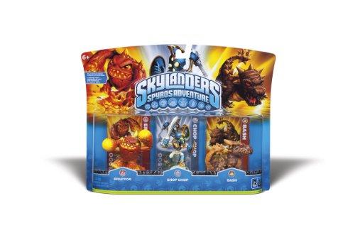 Skylanders Spyro's Adventure Triple Character Pack (Eruptor, Chop Chop, Bash) by Activision (Image #1)