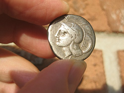 Ancient Greek coin; Lucania, Velia, Silver Stater/Didrachm, c.440-280 BC