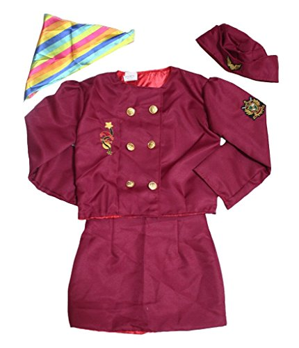 Leaf Sison Halloween Occupational Unisex Children Costume Party Dress Clothing (Flight Attendant) -