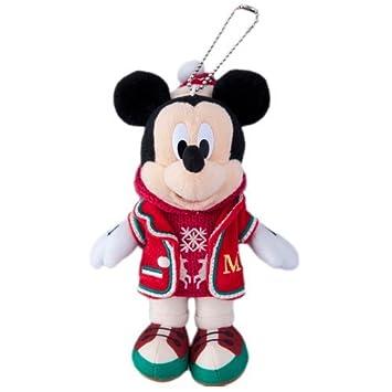 Navidad de Disney Mickey Mouse 2015 juguete de peluche de placas de Navidad Fantasia [Tokyo