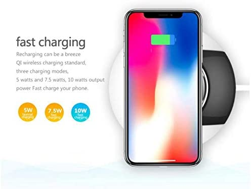 2 in 1 Intelligent Fast Wireless Charger For Samsung S9 S8 7