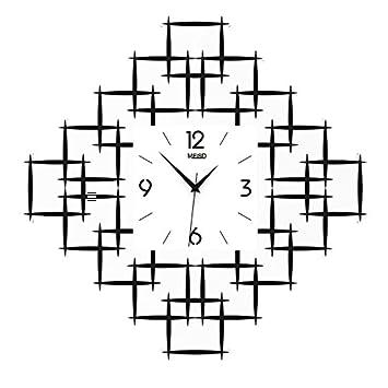 Relojes de pared del Reloj Sala de Estar Personalidad Creativa gráficos de Pared de Moda Reloj