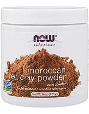 الطين المغربي الأحمر لتنظيف وتنقية البشرة