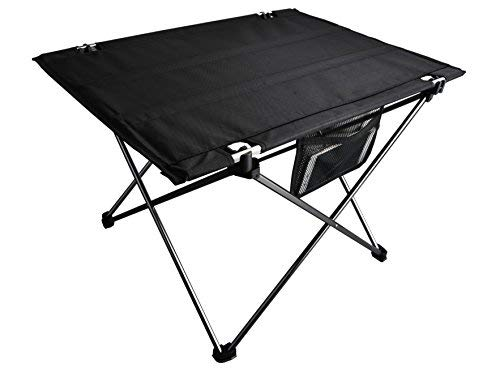 Far See Folding Camping Table Portable Ultralight 600D Ripstop Oxford Cloth Aluminium Picnic Table Roll Up with Storage Bag for Outdoors Scratch Resistant by Far See