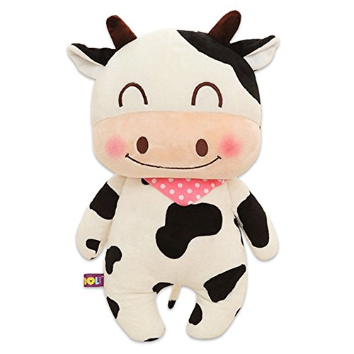 [CHAKMEE Cow Plush Puppet for Girl] (Chucky Costume Shoes)