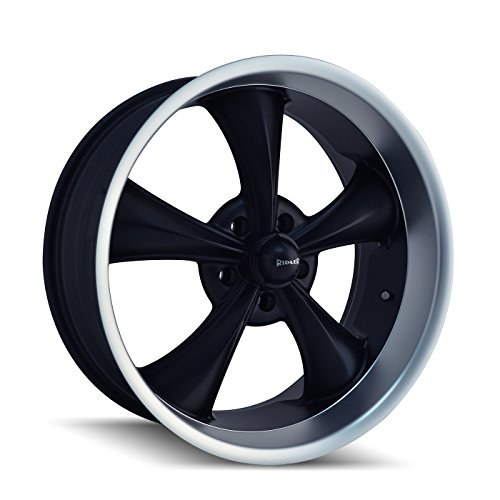 Ridler Style 695 Wheel with Matte Black Finish (17×8″/5x127mm)