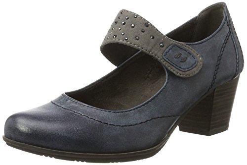 Softline 24366, Zapatos de Tacón para Mujer Azul (Navy)