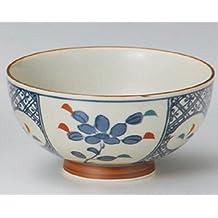 ARITYA-YAKI-NISHIKI-SYOUZUI Jiki Japanese Porcelain Set of 5 Ramen-Bowls for UDON,SOBA,TERIYAKI-BOWL made in JAPAN