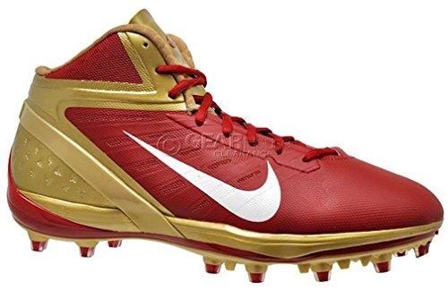 Nike Alfa Talon Elit 3/4 Td Mens Fotbolls Dubbarna 534.769-628 Storlek 13,5 D