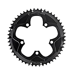 Sram Forcerivalapex 50t 10-speed 110mm Black Chainring Use With 36t