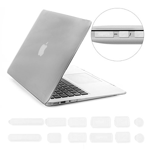 Crystal Plastic Hardcover Case (kwmobile Elegant and light weight Crystal Case for Apple MacBook Air 11