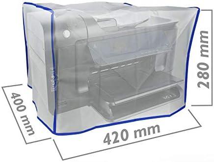 BeMatik - Funda Protectora de Polvo Cubierta para Impresora láser Universal 420 x 400 x 280 mm