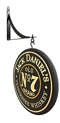 "Classic signs Jack Daniels 12"" Double Sided Pub Sign for sale  Delivered anywhere in USA"