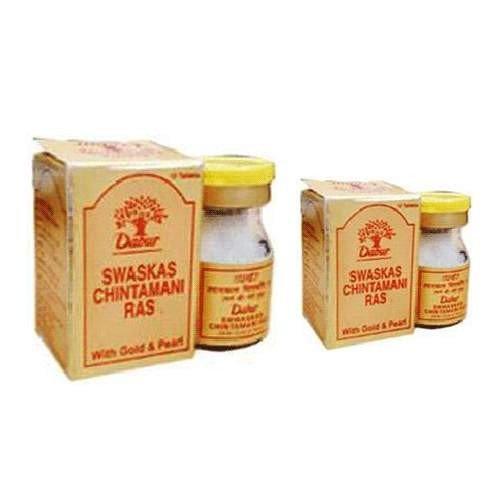 2 x Dabur Swaskas Chintamani Ras with Gold and Pearl - Fo...