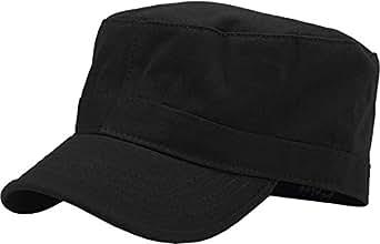 KBK-1464 BLK S Cadet Army Cap Basic Everyday Military Style Hat
