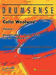 Hal Leonard Drumsense Volume 1 - Straight Rock, Shuffle Rock, Fill-Ins, And Rudiments Book/CD