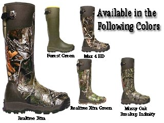 Alphaburly Green Hunting Boots (18 inch LaCrosse Alphaburly Pro Realtree Xtra Hunting Boots, Realtree Xtra Green, 10D)