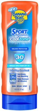 Sunscreen & Tanning: Banana Boat Sport Performance Coolzone
