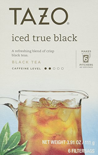 Tazo Iced Black Tea - 6 Tea Bags