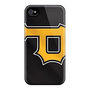 Perfect Fit QsW1152CLzS Pittsburgh Pirates Case For Iphone - 4/4s