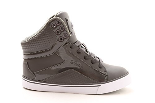 Pastry POP Tart Grid Adult Sneaker Charcoal