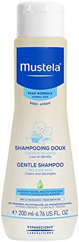 Mustela Gentle Baby Shampoo And Detangler, 6.76 Fl Oz
