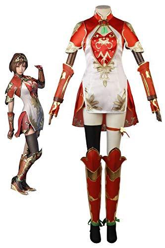 「真・三國無双8」孫尚香(そんしょうこう)尚武の姫君 弓腰姫 ゲーム コスプレ衣装