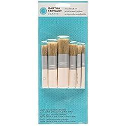 Martha Stewart Crafts Stencil Brush Set: 6 Pieces – 10033377