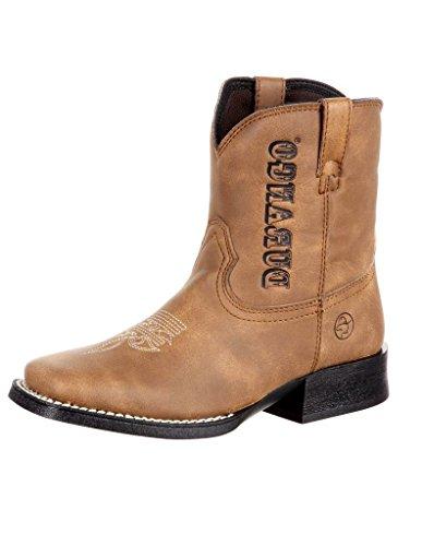 Durango Baby DBT0172 Western Boot, Prairie Brown, 10 M US Toddler