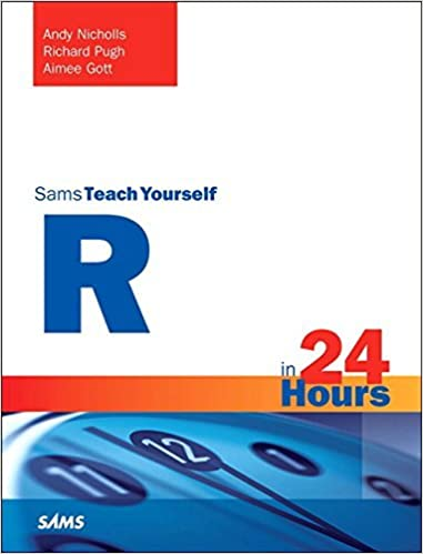 Book R in 24 Hours, Sams Teach Yourself by Andy Nicholls (2016-01-01)