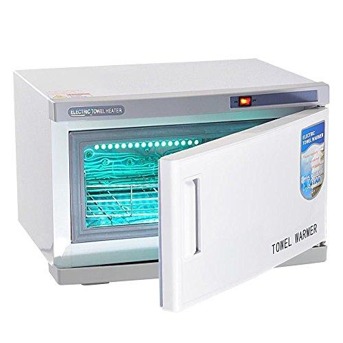 triprel Inc portátil 2en 1caliente calentador de toallas esterilizador UV clóset masaje salón de belleza Spa...