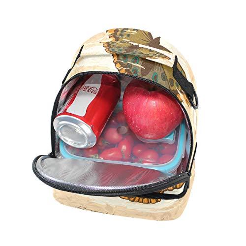 aislamiento y para para con pincnic de Bolsa de ajustable el hombro la almuerzo correa escuela Alinlo wUqXRIx