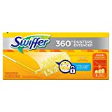 Swiffer 82074CT 360 Dusters, Plastic Handle Extends to 3 ft, 1 Handle & 3 Dusters per Kit (Case of 6 Kits)