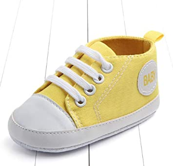8457ba9f331ee New Canvas Classic Sports Sneakers Newborn Baby Boys Girls First Walkers  Shoes Infant Toddler Soft Sole