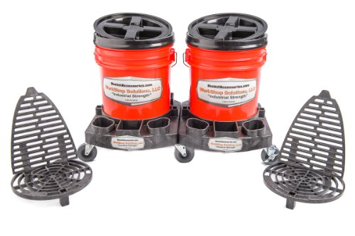 Amazon Com Detail Double Bucket Dolly Kit Automotive
