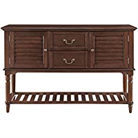 Provence Buffet with Wine Storage (DARK BROWN)