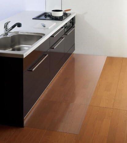 Bürostuhlunterlage Bodenschutzmatte Bodenmatte Stuhlunterlage Transparent 1,5 mm