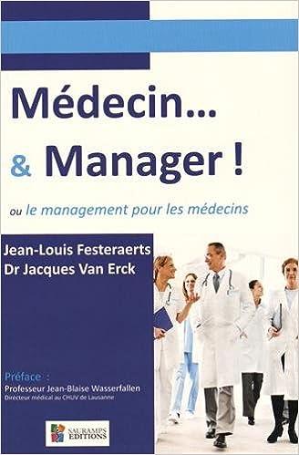 Médecin manager management