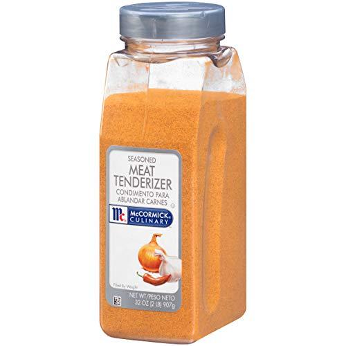McCormick Culinary Seasoned Meat Tenderizer, 32 oz (Natural Liquid Meat Tenderizer)