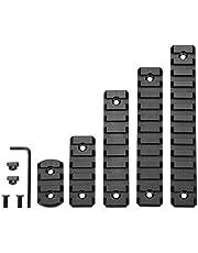 Aluminum M-L-ok Picatinny Rail,3 Slot 5-Slot 9-Slot 11-Slot 13-Slot Lightweight MLok Picatinny Rail Section Accessories for M-L-OK Compatible System