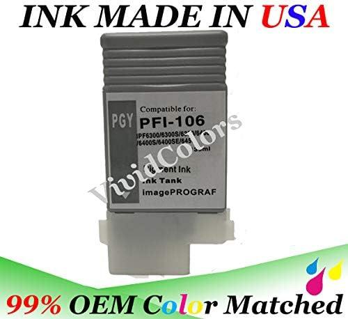 8 Canon ipf 6300 ipf 6400 ipf 6450 PFI-106 PFI-105 Ink cartridges NON-OEM