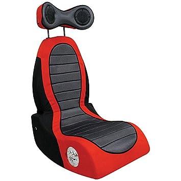 Lumisource   Bm Pulse Boom Video Game Chair, Black