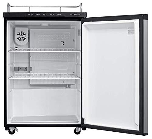 EdgeStar BR3002SS 24 Inch Wide Kegerator Conversion Refrigerator for Full Size Keg - Stainless Steel by EdgeStar (Image #1)