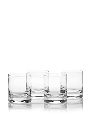 Luigi Bormioli Set of 4 Classico Double Old Fashioned Glasses