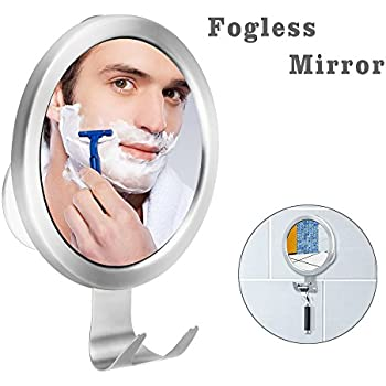 Amazon Com Clearly Zen Fogless Shower Mirror Shave In