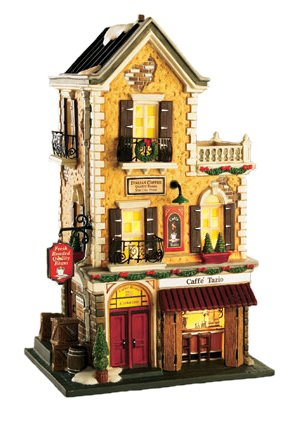 Amazon.com: Department 56 Christmas In The City Caffe Tazio: Home ...