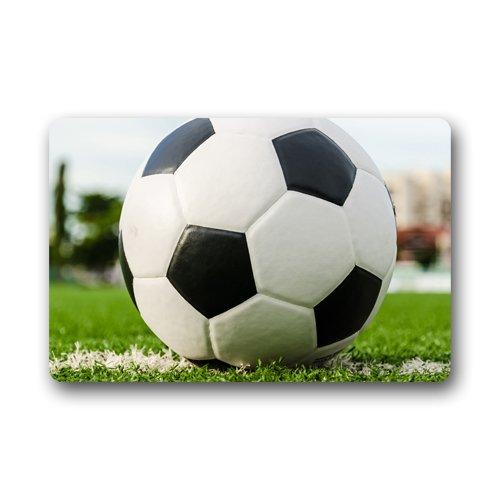 Balón de fútbol deporte Servicio personalizado Felpudo (23.6 x15.7 ...