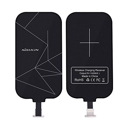 Price comparison product image iPhone Wireless Charging Receiver, Nillkin Magic Tag Qi Wireless Charger Receiver Patch Module Chip for iPhone 7/6/6S/Plus