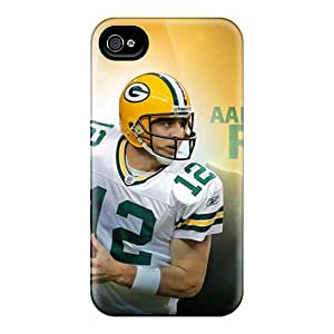Hot Fashion ZKP2137UExp Design Case Cover For Iphone 4/4s Protective Case (green Bay Packers)